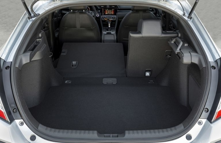 2021 Honda Civic Hatchback Rear Cargo Space