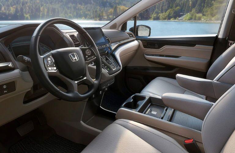 2021 Honda Odyssey Elite dashboard