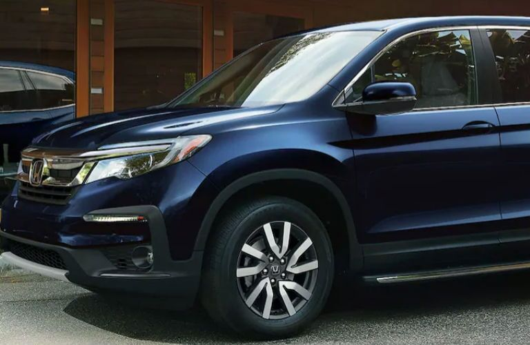 2021 Honda Pilot in blue