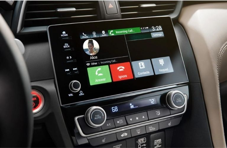 2022 Honda Insight Infotainment display