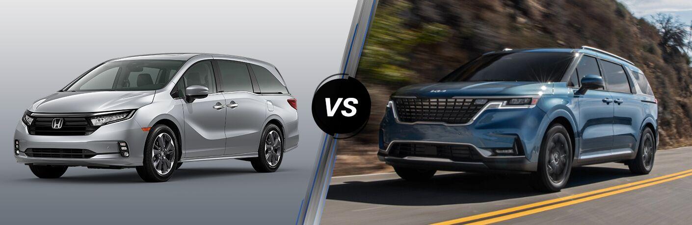 2022 Honda Odyssey vs 2022 Kia Carnival