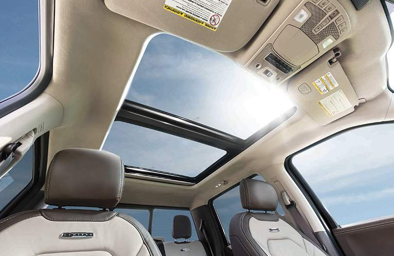 Twin panel moonroof in 2018 ford super duty limited
