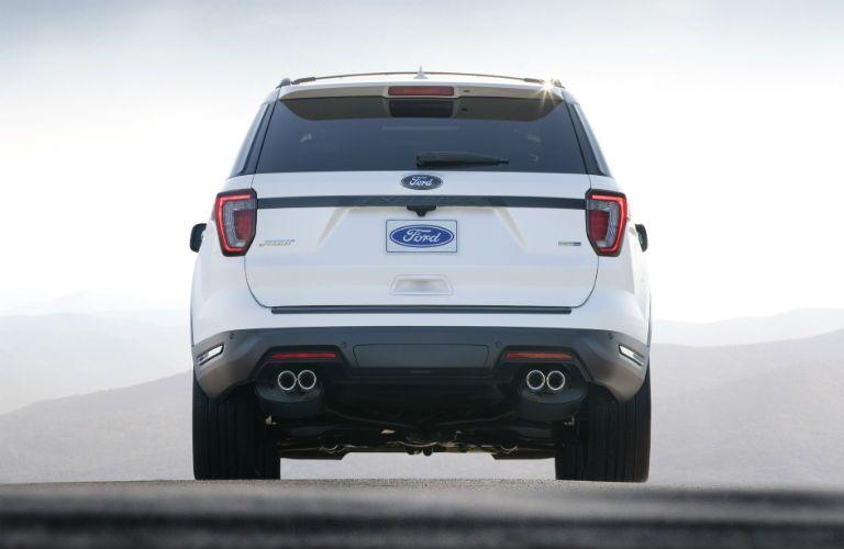 rear door of 2018 ford explorer