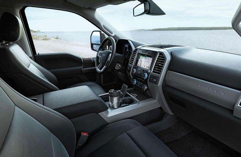 interior of 2018 ford f-250 super duty