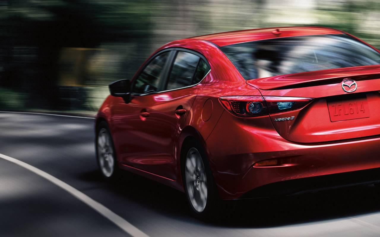 2018 Mazda3 Stability Control