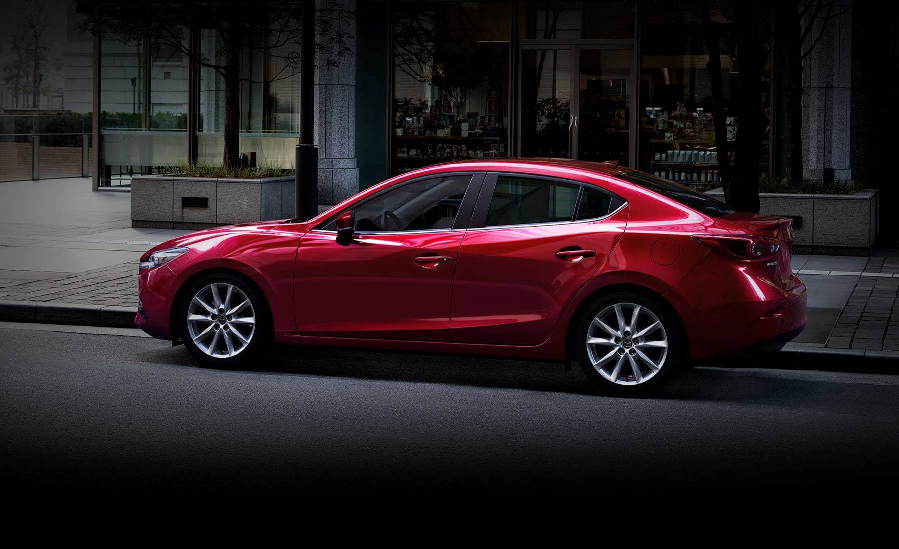The New 2018 Mazda3 in Peoria, IL