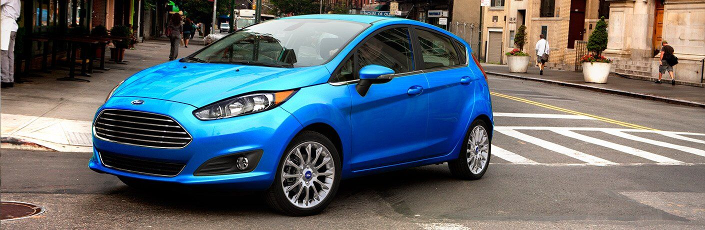 2017 Ford Fiesta Front Exterior