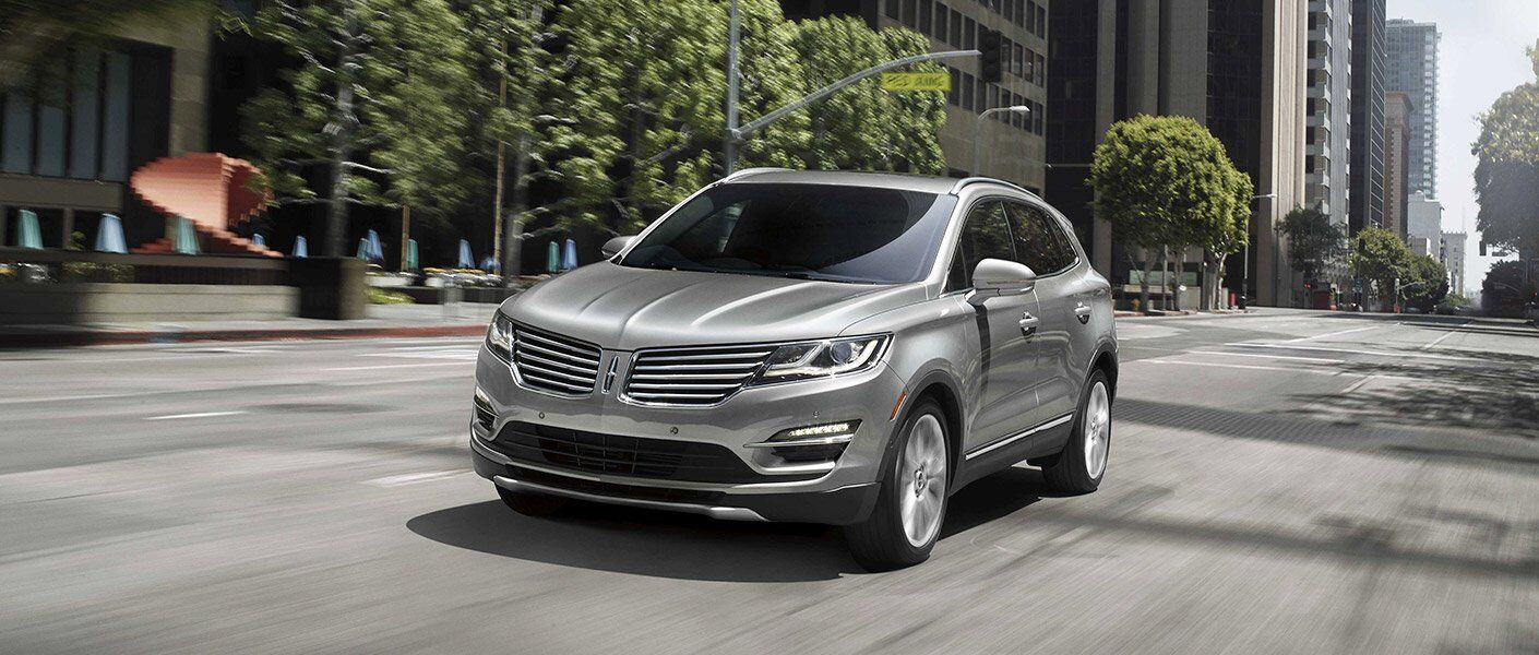 2017 Lincoln MKC Front Exterior