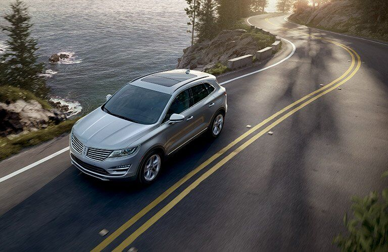 2017 Lincoln MKC Overhead Exterior View