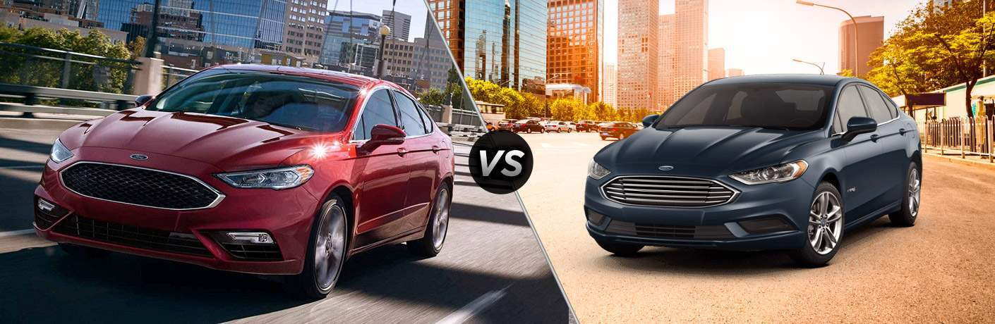 2018 Ford Fusion vs 2018 Ford Fusion Hybrid