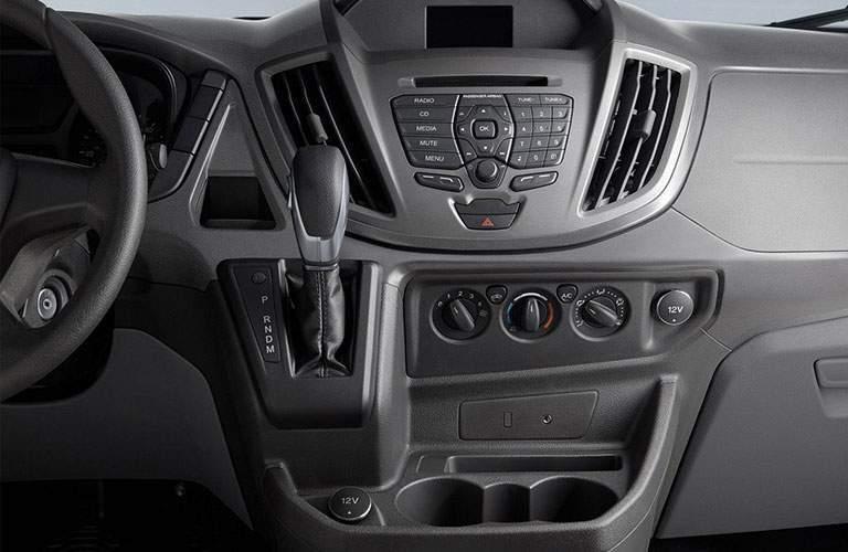 2018 Ford Transit Cargo Van Gray Interior Instrument Panel