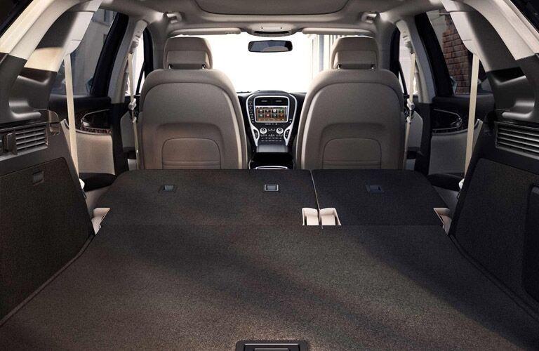2018 Lincoln MKX Interior Cabin Seats Flat