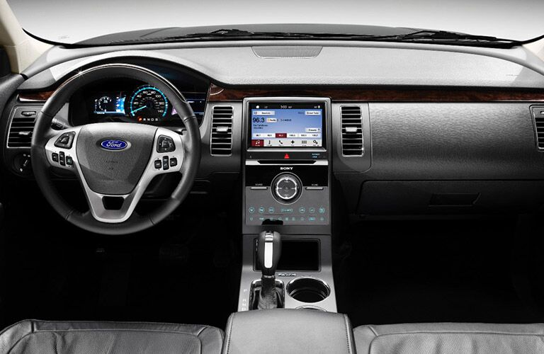 Latest Sync 3 infotainment system available with 2017 Flex
