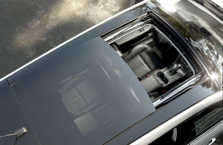 Sun roof adds luxury feel to premium crossover Wagon