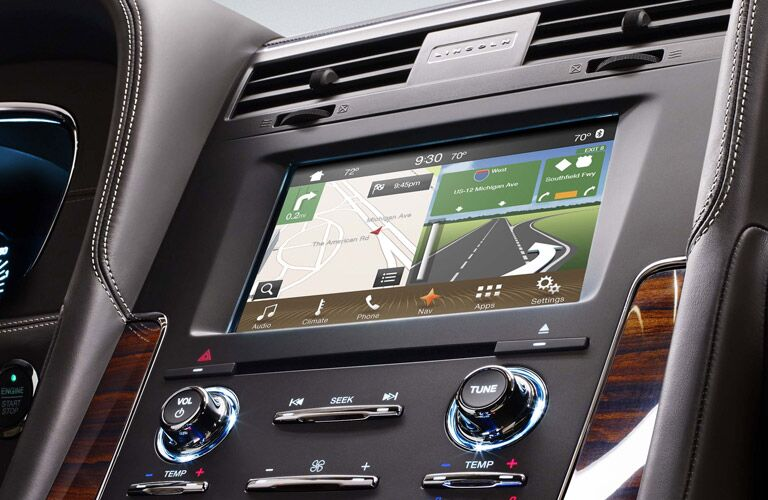 Latest connectivity systems can be found in the 2017 Navigator