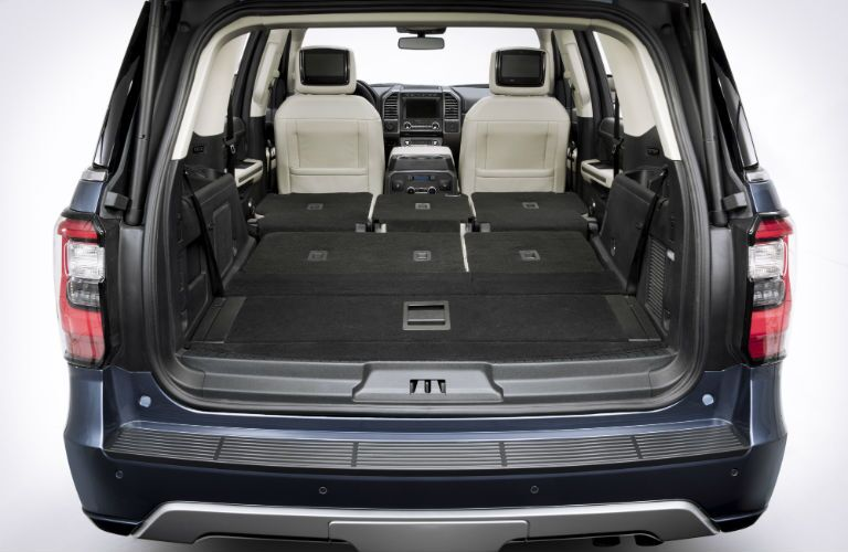Nearly class leading cargo space in 2018 Ford Expedition