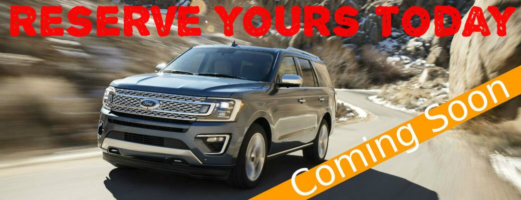 Reserve the 2018 Ford Expedition near Savannah, GA
