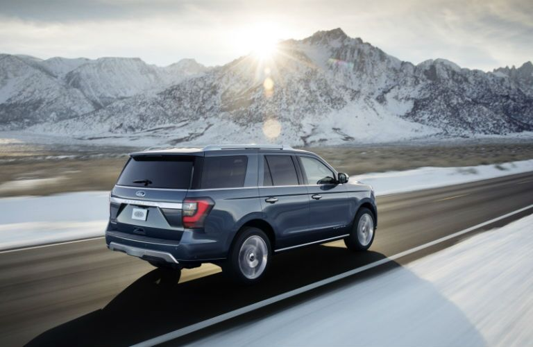 Plenty of cargo and passenger space 2018 Ford Expedition