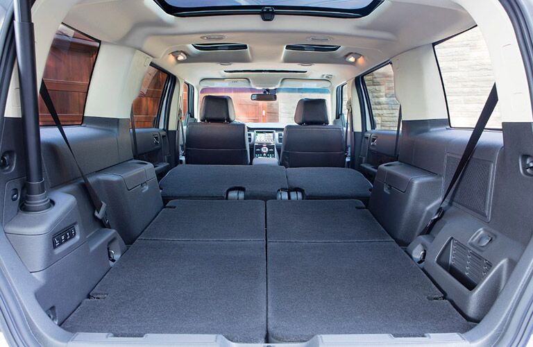 More than 80 cubic feet available when seats folded down