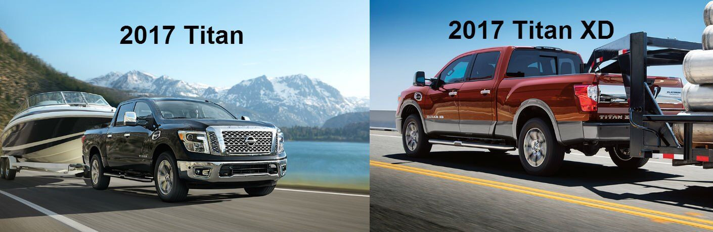 2017 Nissan Titan and 2017 Titan XD Chesterton Hobart IN