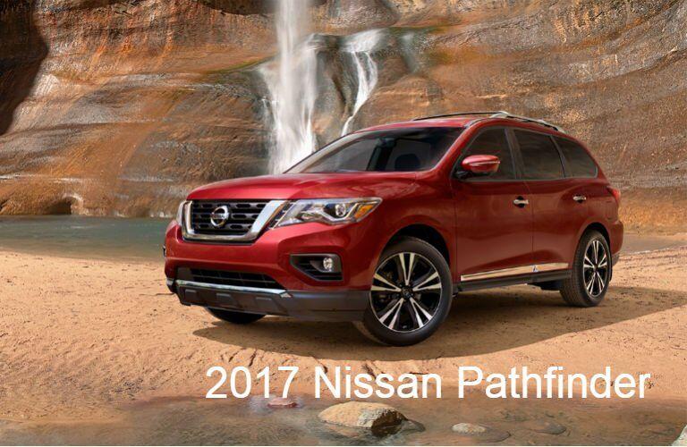 2017 Nissan SUVs and Trucks: Pathfinder