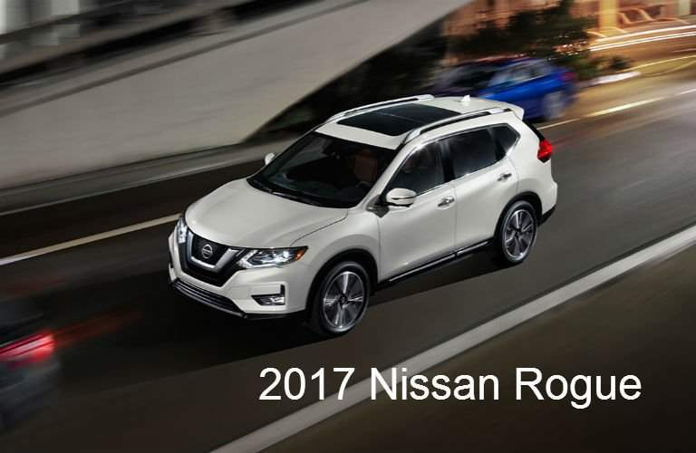 2017 Nissan SUVs and Trucks: Rogue