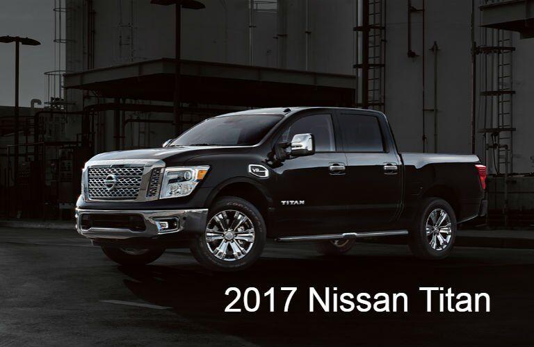 2017 Nissan SUVs and Trucks: Titan