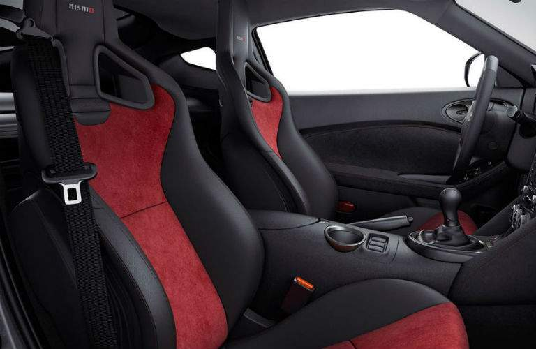 2018 nissan 370z coupe front interior