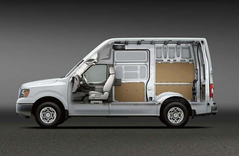 2017 Nissan NV1500 and NV2500 Cargo commercial vans