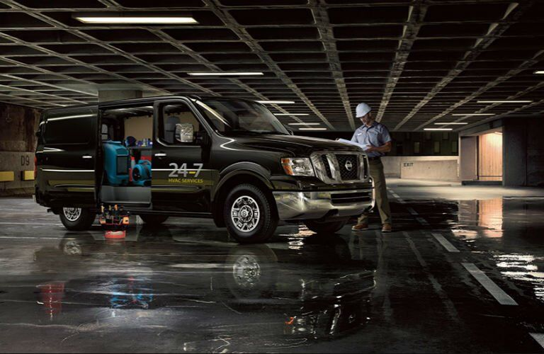 2017 Nissan NV1500 and NV2500 Cargo commercial vans Chesterton IN