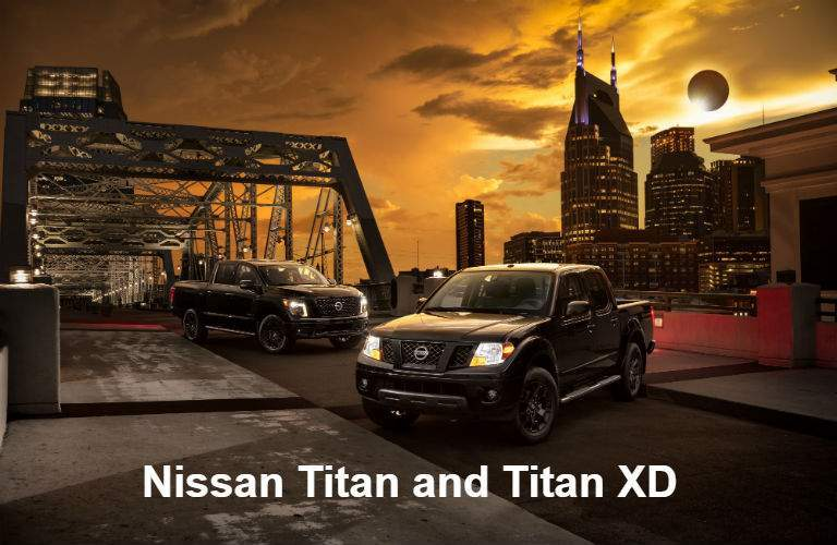 Midnight Edition 2018 Nissan Titan and Titan XD trucks
