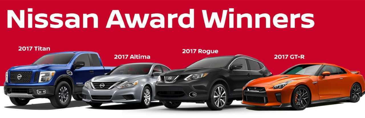 Nissan award winners 2017 Armada Rogue Altima