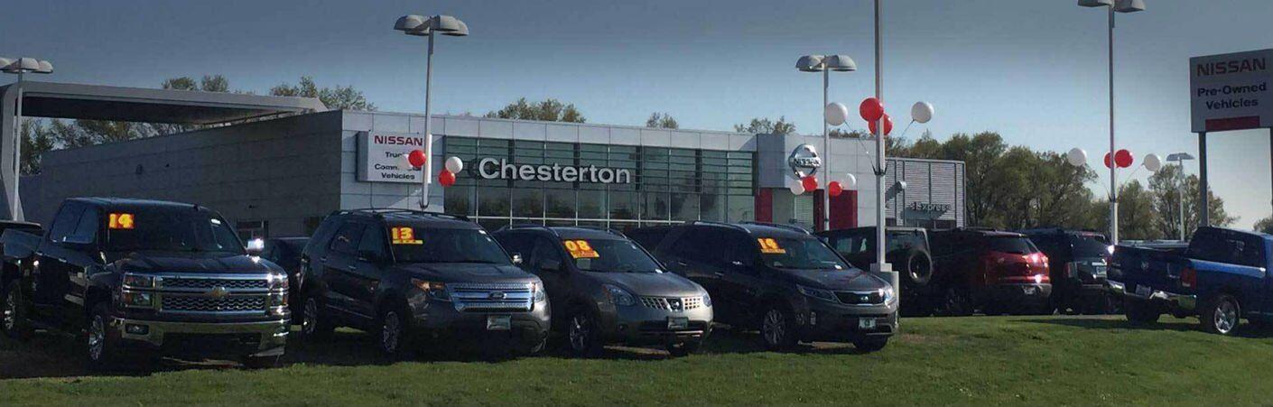 Used vehicles cars SUVs trucks minivans Nissan of Chesterton IN