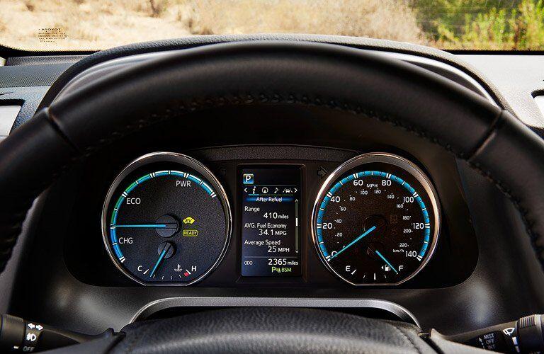 2017 Toyota RAV4 instrument panel