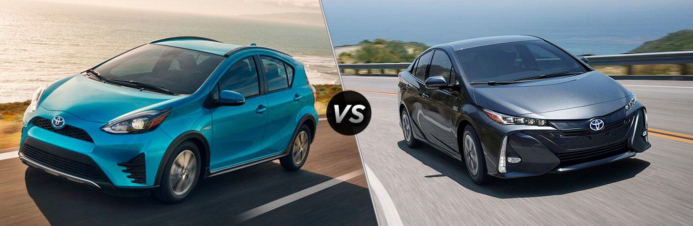 2018 Toyota Prius c vs 2018 Toyota Prius Prime