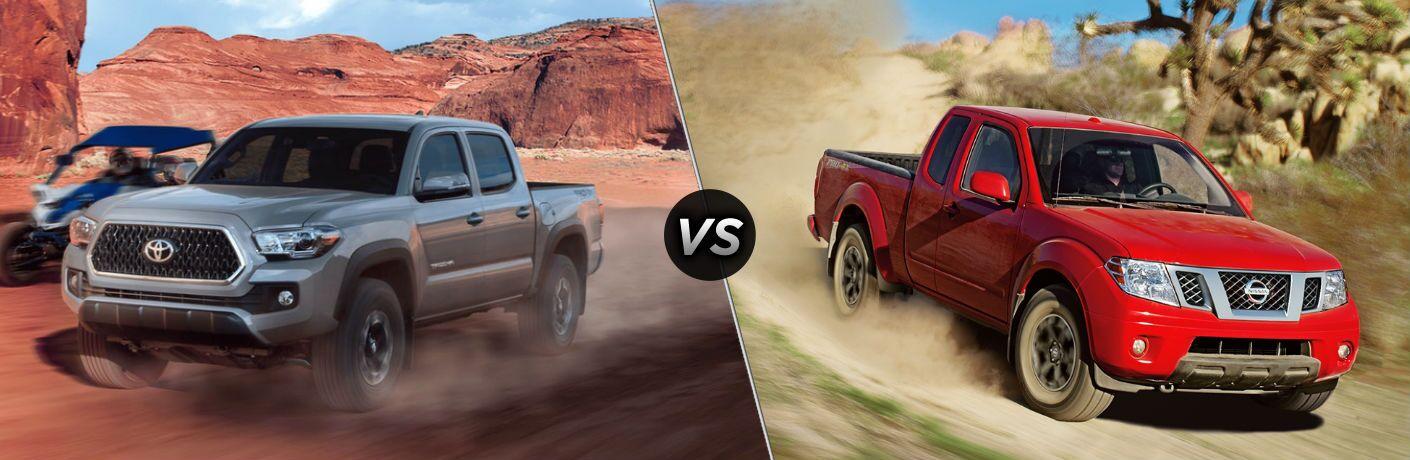 2018 Toyota Tacoma vs 2018 Nissan Frontier
