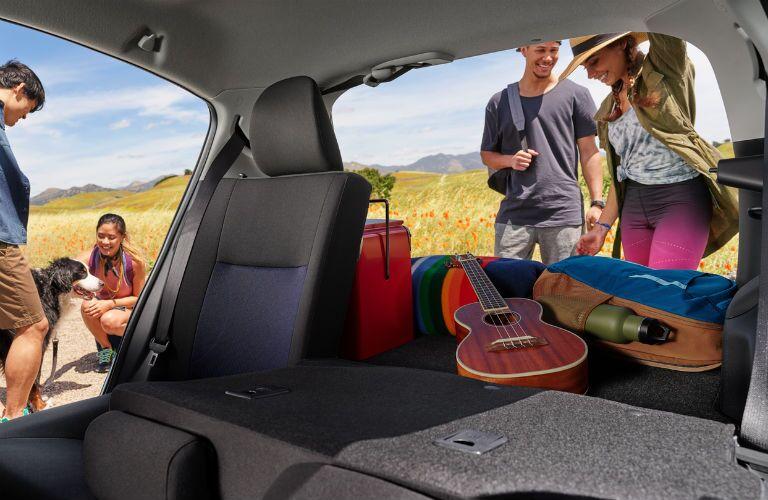 2018 Toyota Prius c cargo area