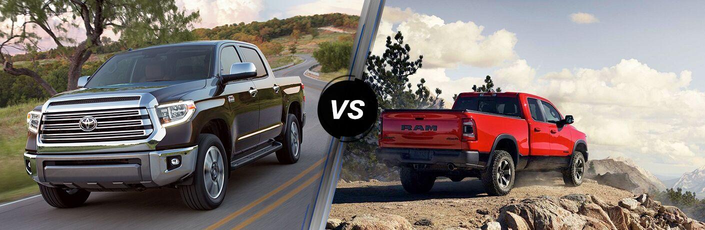 2019 Toyota Tundra vs 2019 Ram 1500