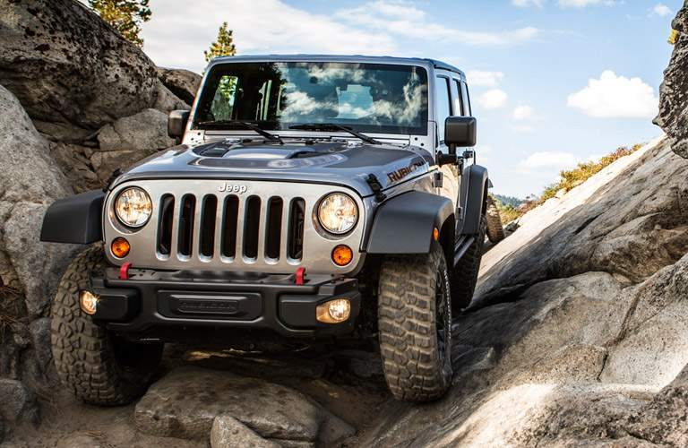 Front exterior image of a 2013 Jeep Wrangler