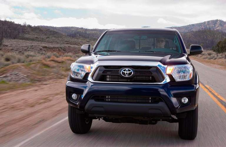 Front exterior view of 2013 Toyota Tacoma
