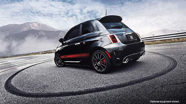 Exterior view of 2015 Fiat Abarth