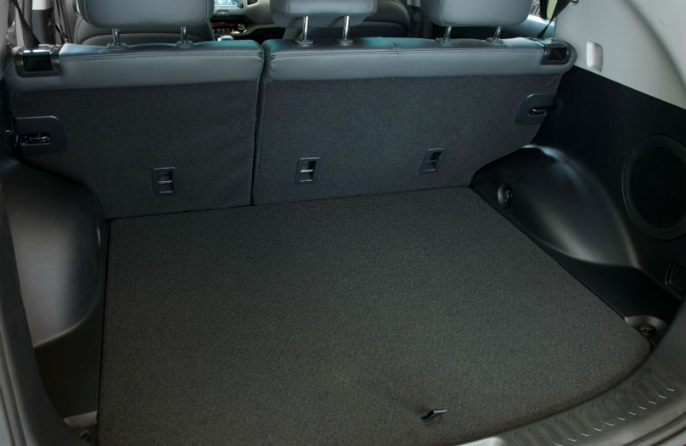 Standard cargo space in the 2015 Kia Sportage