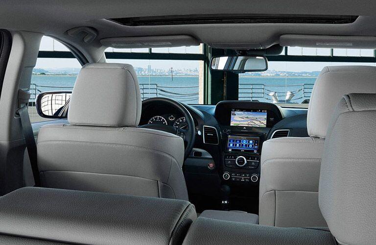 2016 Acura RDX interior profile