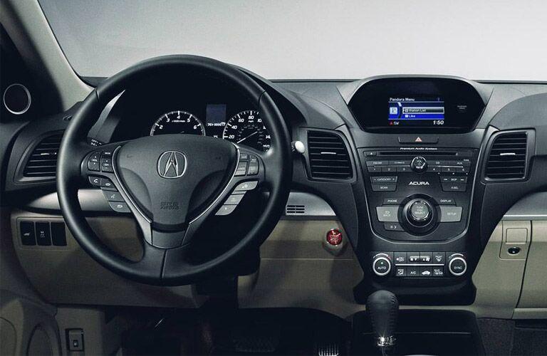 2016 Acura RDX front interior