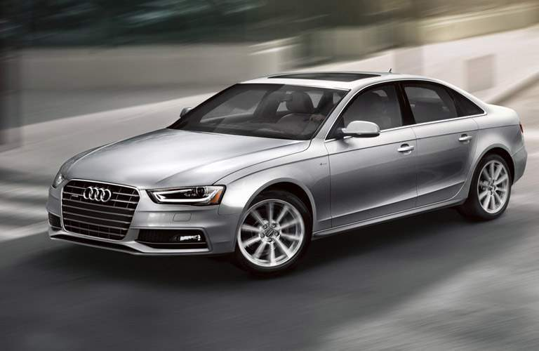 Driver profile view of 2016 Audi A4