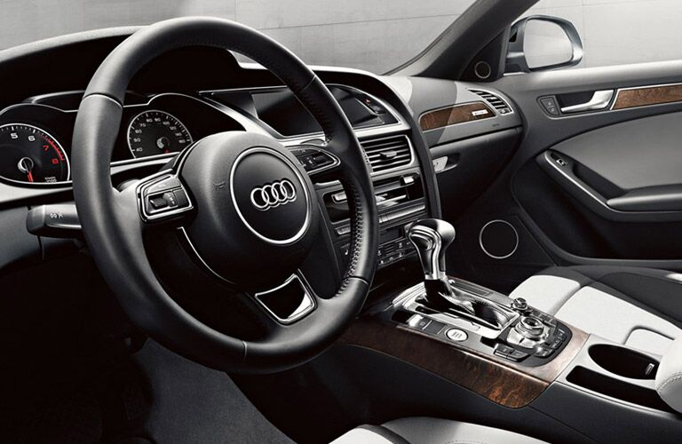 front interior of the Audi A4