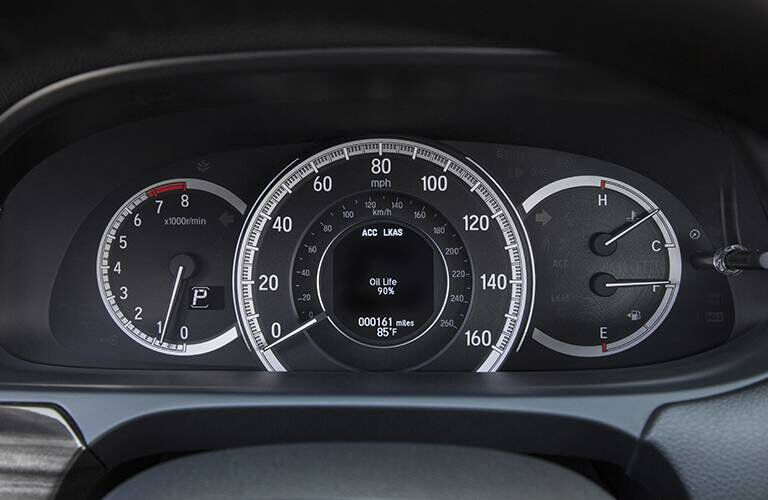 Driver information center of the 2016 Honda Accord