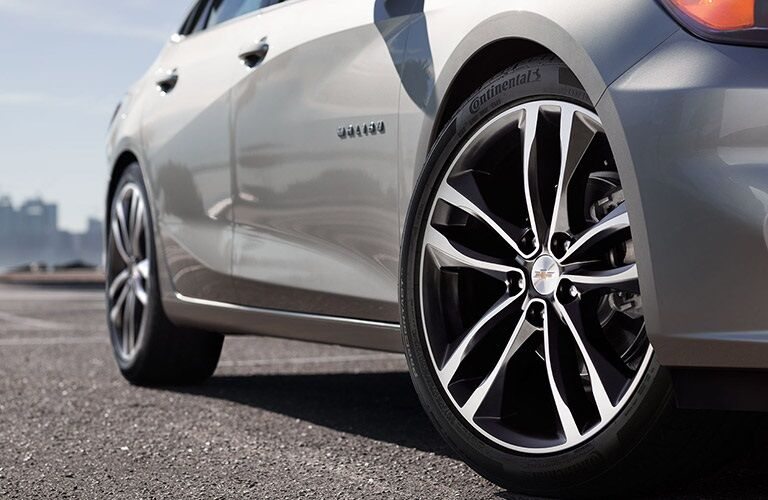Right side wheels on a 2016 Chevy Malibu