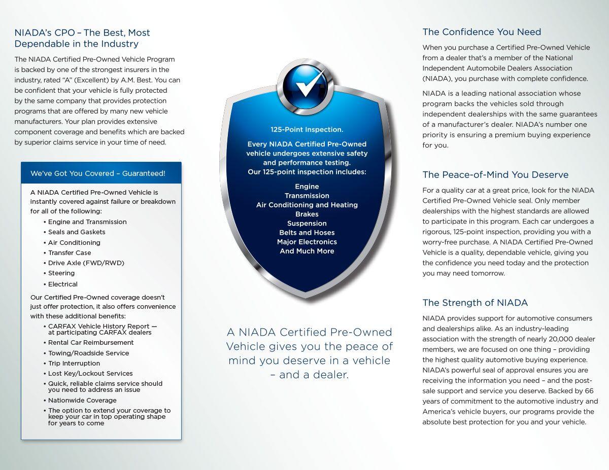 NIADA brochure