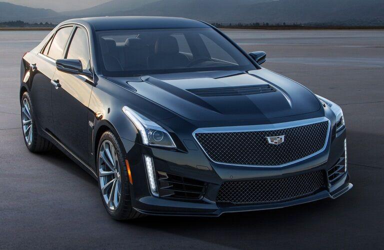 black 2016 Cadillac CTS Sedan